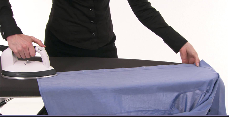 a simple diy guide on how to iron shirts and pants. Black Bedroom Furniture Sets. Home Design Ideas